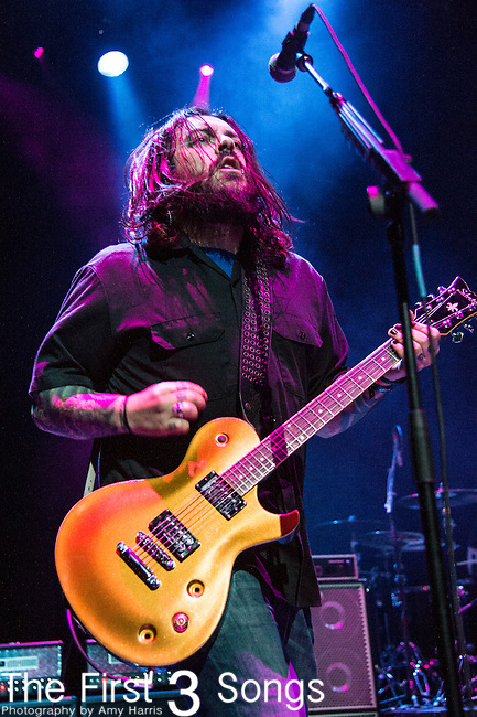 Shaun Morgan of Seether performs during the 2016 ShipRocked Cruise. ShipRocked set sail January 18-22, 2016, from Miami to Costa Maya, Mexico on the Norwegian Pearl.