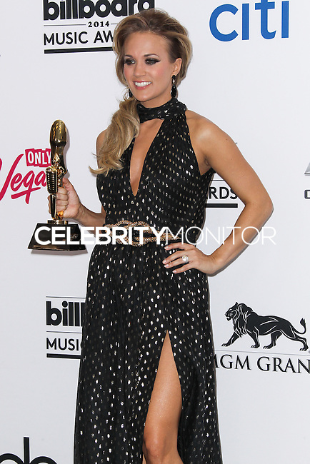 LAS VEGAS, NV, USA - MAY 18: Carrie Underwood in the press room at the Billboard Music Awards 2014 held at the MGM Grand Garden Arena on May 18, 2014 in Las Vegas, Nevada, United States. (Photo by Xavier Collin/Celebrity Monitor)