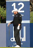Shane Lowry (IRL) on the 12th tee during Round 2 of the 2015 Alfred Dunhill Links Championship at Kingsbarns in Scotland on 2/10/15.<br /> Picture: Thos Caffrey | Golffile