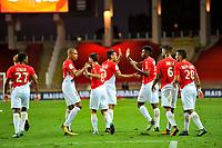 Joie - Jemerson Jesus Nascimento (AS Monaco) - Falcao (AS Monaco)<br /> 04-08-2017 <br /> Monaco - Toulouse <br /> Calcio Ligue 1 2017/2018 <br /> Foto Scanella/ Panoramic/Insidefoto
