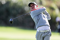 Josh Munn during the Charles Tour Augusta Funds Management Ngamotu Classic, Ngamotu Golf Course, New Plymouth, New Zealand, Thursday 12 October 2017.  Photo: Simon Watts/www.bwmedia.co.nz