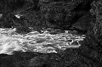 Wave action and rocky shoreline at Samuel H. Boardman State Scenic Corridor. Oregon