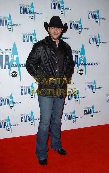 6 November 2006 - Nashville, Tennessee - Chris Young. The 40th Annual CMA Awards held at the Gaylord Entertainment Center. Photo Credit: George Shepherd/AdMedia