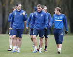Lee Wallace, Lee McCulloch and Dean Shiels
