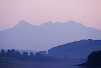 soft evening light on Cuillin mountains, Isle of Skye