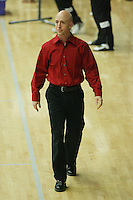 15 January 2006: Assistant coach Mike Lorenzen during Stanford's gymnastics meet at Maples Pavilion in Stanford, CA.
