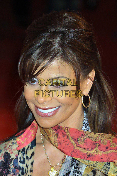 PAULA ABDUL..GQ Awards in New York..bouffant hair, big hair, neck scarf, hoop earrings, headshot, portrait..www.capitalpictures.com..sales@capitalpictures.com..©Capital Pictures