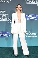 17 November 2019 - Las Vegas, NV - Paige Hurd. 2019 Soul Train Awards Red Carpet Arrivals at Orleans Arena. Photo Credit: MJT/AdMedia