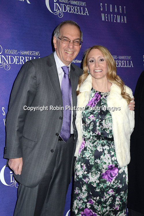 producer Furman attends Rogers +  Hammerstein's Cinderella Broadway Opening night on March 3, 2013 at the Broadway Theatre in New York City.