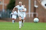 28 October 2012: UNC's Hanna Gardner. The University of North Carolina Tar Heels played the University of Virginia Cavaliers at Fetzer Field in Chapel Hill, North Carolina in a 2012 NCAA Division I Women's Soccer game. Virginia defeated UNC 1-0 in their Atlantic Coast Conference quarterfinal match.