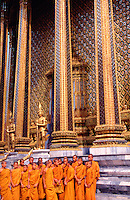 Thailand Bangkok The Wat Phra Keo temple