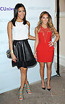 Julissa Bermudez and Adrienne Bailon at the NBCUinversal Summer Press Day held at the Langham Huntington Hotel & Spa in Pasadena, California. April 18, 2012