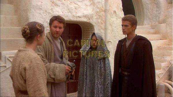 NATALIE PORTMAN & HAYDEN CHRISTENSEN.In Star Wars II - Attack Of The Clones.Filmstill - Editorial Use Only.Ref: FB.www.capitalpictures.com.sales@capitalpictures.com.©Capital Pictures