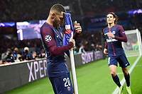 Celebration Esultanza de KURZAWA Layvin (PSG) apres son but<br /> Parigi 31-10-2017 <br /> Paris Saint Germain - Anderlecht Champions League 2017/2018<br /> Foto Panoramic / Insidefoto