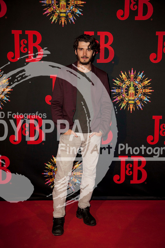 J&amp;B event Party at Old North Train Station in MAdrid on October 25, 2012. Photo by Nacho Lopez/ DyD Fotografos-DYDPPA<br /> Yon Gonzalez