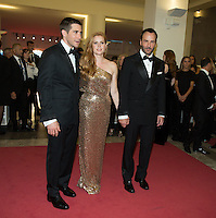 Jake Gyllenhaal, Amy Adams &amp; Tom Ford at the premiere of Nocturnal Animals at the 2016 Venice Film Festival.<br /> September 2, 2016 Venice, Italy<br /> Picture: Kristina Afanasyeva / Featureflash
