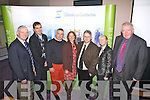 Attendees and speakers pictured at the Múscailt Uibh Ráhaigh held in theWaterville Lake Hotel on Friday last l-r; Michéal Ó Cinnéide(NUI Galway), Maurice Fitzgerald(Auctioneer), Andrew Cooke(QC's), Nicki Hawkins(Photomade), Brian Lucey(TCD), Eileen Whelan(Skellig Mist) & Brian McCarthy(FEXCO).