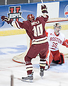Brian Boyle (John Curry) - The Boston College Eagles defeated the Boston University Terriers 5-0 on Saturday, March 25, 2006, in the Northeast Regional Final at the DCU Center in Worcester, MA.