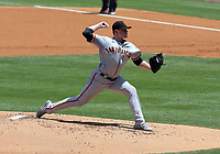 25th July 2020, Los Angeles, California, USA;  San Francisco Giants pitcher Logan Webb (62) throws a pitch during the game against the Los Angeles Dodgers on July 25, 2020, at Dodger Stadium in Los Angeles, CA.