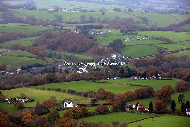 Llangammarch Wells, Powys, Wales, UK