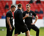 Adam Geelan and Carl during the Championship match at the City Ground Stadium, Nottingham. Picture date 30th September 2017. Picture credit should read: Simon Bellis/Sportimage