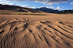 Late afternoon at Great Sand Dunes National Monument, Colorado, USA