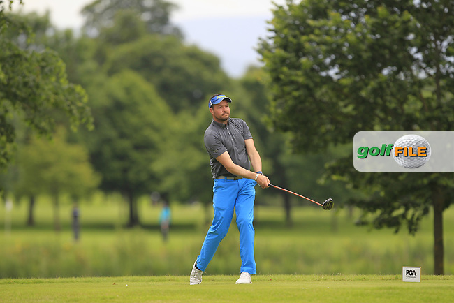 Paul Jones (Ashley Wood GC) on the 8th tee during Round 1 of the Titleist &amp; Footjoy PGA Professional Championship at Luttrellstown Castle Golf &amp; Country Club on Tuesday 13th June 2017.<br /> Photo: Golffile / Thos Caffrey.<br /> <br /> All photo usage must carry mandatory copyright credit     (&copy; Golffile | Thos Caffrey)