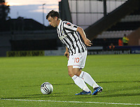Paul McGowan in the St Mirren v Ayr United Scottish Communities League Cup match played at St Mirren Park, Paisley on 29.8.12.