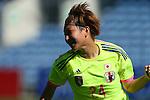 Yuika Sugasawa (JPN), <br /> MARCH 6, 2015 - Football / Soccer : <br /> Algarve Women's Football Cup 2015 Group C match <br /> between Japan 3-0 Portugal <br /> at Algarve Stadium in Faro, Portugal. <br /> (Photo by YUTAKA/AFLO SPORT)[1040]