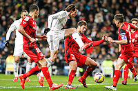 Real Madrid's Welsh forward Gareth Bale