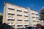 Rosewell Court 1960s flats, Bath, Somerset, England