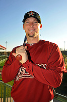 Feb 25, 2010; Kissimmee, FL, USA; The Houston Astros infielder Chris Johnson (23) during photoday at Osceola County Stadium. Mandatory Credit: Tomasso De Rosa/ Four Seam Images