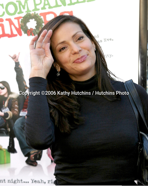 "Constance Marie.""Unaccompanied Minors"" World Premiere - Arrivals.December 2, 2006 - Grauman's Chinese Theatre.Hollywood, California USA.©2006 Kathy Hutchins / Hutchins Photo."