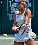 Madison Keys (USA) defeated Bernarda Pera (USA) 6-2, 6-7, 7-5