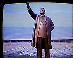 NR00061/Propaganda tv of the great leader Kim Il Sung, september 2000