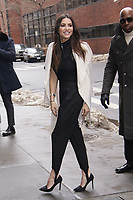 NEW YORK, NY - JANUARY 11: Andi Dorfman  arrives at BUILD SERIES on January 11, 2018 in New York City. <br /> CAP/MPI99<br /> &copy;MPI99/Capital Pictures