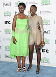 Lupita Nyong'o and mom attends The 2014 Film Independent Spirit Awards held at Santa Monica Beach in Santa Monica, California on March 01,2014                                                                               © 2014 Hollywood Press Agency