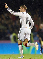 Germany's Kroos celebrates goal during international friendly match.November 18,2014. (ALTERPHOTOS/Acero) /NortePhoto<br />