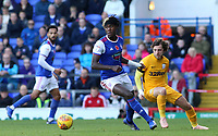 Ipswich Town's Trevoh Chalobah gets away from Preston North End's Ben Pearson<br /> <br /> Photographer David Shipman/CameraSport<br /> <br /> The EFL Sky Bet Championship - Ipswich Town v Preston North End - Saturday 3rd November 2018 - Portman Road - Ipswich<br /> <br /> World Copyright &copy; 2018 CameraSport. All rights reserved. 43 Linden Ave. Countesthorpe. Leicester. England. LE8 5PG - Tel: +44 (0) 116 277 4147 - admin@camerasport.com - www.camerasport.com