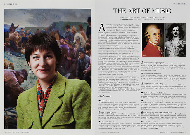 Alison Bevan, director of the Royal West of England Academy, Bristol.<br />