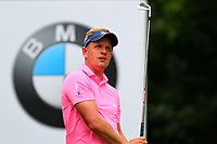 Luke Donald tees off at the 5th tee during the BMW PGA Golf Championship at Wentworth Golf Course, Wentworth Drive, Virginia Water, England on 27 May 2017. Photo by Steve McCarthy/PRiME Media Images.