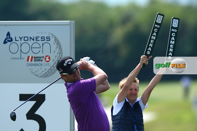 Marc Warren of Scotland during Round 2 of the Lyoness Open, Diamond Country Club, Atzenbrugg, Austria. 10/06/2016<br /> Picture: Richard Martin-Roberts / Golffile<br /> <br /> All photos usage must carry mandatory copyright credit (&copy; Golffile   Richard Martin- Roberts)