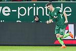 12.03.2018, Weser Stadion, Bremen, GER, 1.FBL, Werder Bremen vs 1.FC Koeln, im Bild<br /> Milot Rashica (Neuzugang Werder Bremen #11) nach dem Zor <br /> <br /> Foto &copy; nordphoto / Kokenge
