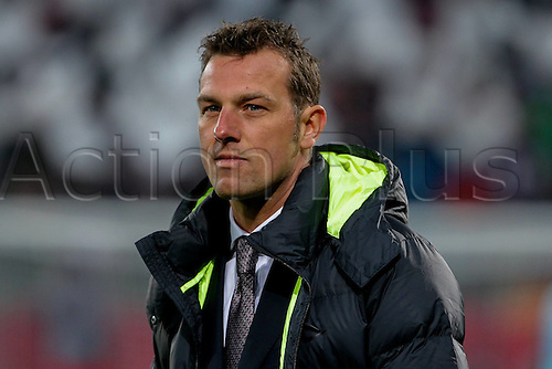 18.02.2016. Augsburg, Germany. UEFA Europa League football. Augsburg versus Liverpool FC.   Trainer Markus Weinzierl (FC Augsburg)