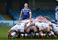 Jack Wilson of Bath United looks on. Premiership Rugby Shield match, between Bath United and Gloucester United on April 8, 2019 at the Recreation Ground in Bath, England. Photo by: Patrick Khachfe / Onside Images