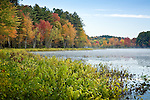 Fall foliage at Hopkinton Lake, Hopkinton, NH