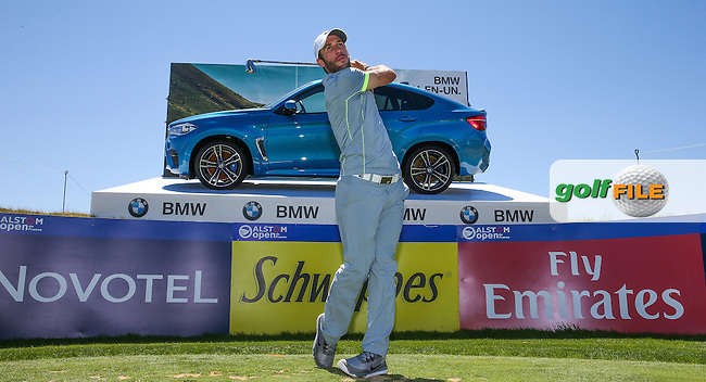 One of many French hopes this week, Romain Wattel, (FRA) swings to the 16th during the preview days of the 2015 Alstom Open de France, played at Le Golf National, Saint-Quentin-En-Yvelines, Paris, France. /30/06/2015/. Picture: Golffile | David Lloyd<br /> <br /> All photos usage must carry mandatory copyright credit (&copy; Golffile | David Lloyd)