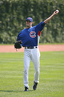 Sean Marshall of the Chicago Cubs vs. the San Diego Padres: June 18th, 2007 at Wrigley Field in Chicago, IL.  Photo by Mike Janes/Four Seam Images