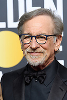 Nominated for BEST DIRECTOR &ndash; MOTION PICTURE for &quot;The Post,&quot; director Steven Spielberg arrives at the 75th Annual Golden Globe Awards at the Beverly Hilton in Beverly Hills, CA on Sunday, January 7, 2018.<br /> *Editorial Use Only*<br /> CAP/PLF/HFPA<br /> &copy;HFPA/PLF/Capital Pictures