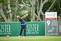 Matthieu Pavon (FRA) during the 3rd round of the AfrAsia Bank Mauritius Open, Four Seasons Golf Club Mauritius at Anahita, Beau Champ, Mauritius. 01/12/2018<br /> Picture: Golffile | Mark Sampson<br /> <br /> <br /> All photo usage must carry mandatory copyright credit (© Golffile | Mark Sampson)